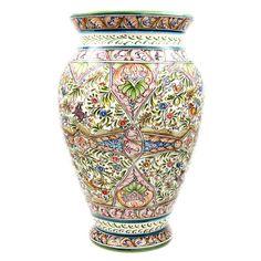 Coimbra Ceramics Hand Painted Decorative Vase XVII Century Recreation #2530