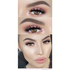 Makeup for brown eyes ❤ liked on Polyvore featuring beauty products, makeup and eye makeup