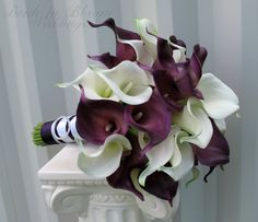 Hey, I found this really awesome Etsy listing at http://www.etsy.com/listing/152542191/calla-lily-wedding-bouquet-bridal