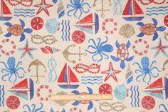 Swavelle/Mill Creek :: Mill Creek Seapoint - Franco Printed Poly Outdoor Fabric in Nautical $8.95 per yard - Fabric Guru.com: Fabric, Discount Fabric, Upholstery Fabric, Drapery Fabric, Fabric Remnants, wholesale fabric, fabrics, fabricguru, fabricguru.com, Waverly, P. Kaufmann, Schumacher, Robert Allen, Bloomcraft, Laura Ashley, Kravet, Greeff