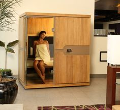 Warm Up To A New Sauna Experience at your local Planet Beach! A Sunlighten mPulse Infared Sauna (Courtesy Sunlighten) Best Infrared Sauna, Sauna For Sale, Infared Sauna, Detox Spa, Designer Shoes Online, Detoxify Your Body, Wellness Center, Home Spa, What Is Life About