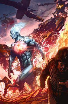 Captain Atom by Stanley Lau