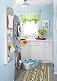 laundry room decor ideas on pinterest small laundry rooms washer a