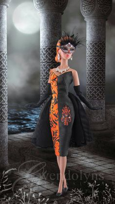 MASQUERADE..new Halloween fashions from Gwendolyns Treasures >>>