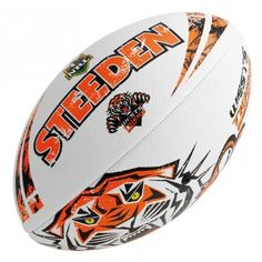Shop and Buy online with confidence at BallsDirect. We are committed to only supplying the highest quality balls at the best prices. Wests Tigers, Beach Ball, Soccer Ball, Balls, Soccer, European Football, Football, Futbol