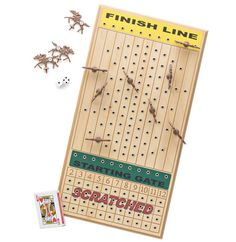 horse race dice game board - Google Search