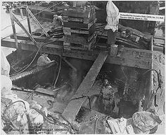 The USS Arizona salvage operations, still ongoing, sixteen months after the attack. Pearl Harbor Day, Pearl Harbor Attack, Naval History, Military History, Military Memes, Day Of Infamy, Remember Pearl Harbor, Uss Texas, Uss Arizona