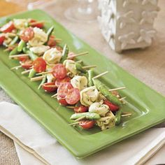 Try These Mustard Dill Tortellini Salad Skewers and 23 More Appetizers