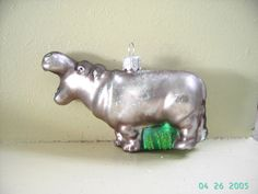 Hey, I found this really awesome Etsy listing at https://www.etsy.com/listing/215367617/blown-glass-hippo-hippopotamus-glass