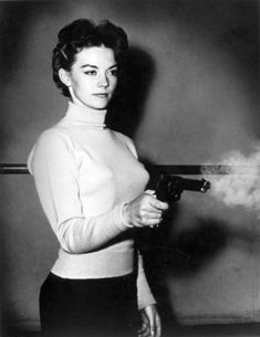 390e623b57ff2 Women with Guns. See more. The woman here is not Natalie Wood. She appeared  in a series of photos in