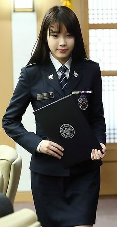 IU Promoted To Senior Officer For Her Work With South Korean Police In Anti-Bullying Campaign http://www.kpopstarz.com/articles/134172/20141111/iu-promoted-to-senior-officer-for-her-work-with-south-korean-police-in-anti-bullying-campaign.htm