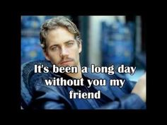 Wiz Khalifa ft Charlie Puth See you Again ( lyrics) - you will always be remembered paul walker ,we love you so much and you will always be in our hearts. This is so sad. Music Love, Music Is Life, Love Songs, See You Again Lyrics, Song Lyric Quotes, Song Lyrics, When I See You, Charlie Puth, Wiz Khalifa