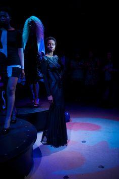 Black Leg Veil dress by Carlotta Actis Barone 2013, #womenswear #designer #fashiontrend Kensington And Chelsea, Classic Elegance, Reflection, Concert, Concerts