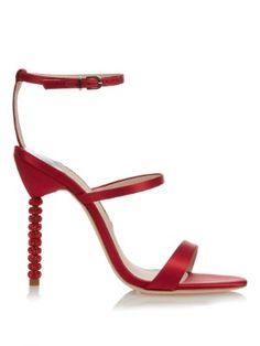 Rosalind satin and crystal-embellished sandals  | Sophia Webster | MATCHESFASHION.COM US
