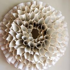 Book page wreath                                                       …