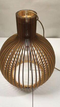 Rattan Lamp, Wooden Lampshade, Wooden Chandelier, Pendant Lighting Bedroom, Bedroom Light Fixtures, Wood Pendant Light, Pendant Lights, Birdcage Lamp, Modern Kitchen Design