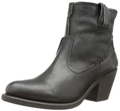 FRYE Women's Leslie Artisan Short Boot, Black, 9 M US -- Discover this special boots, click the image : Women's boots