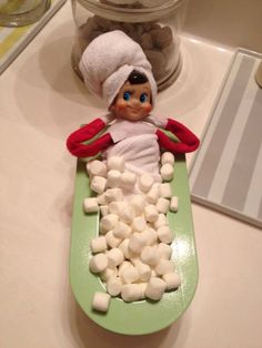Our Elf On The Shelf!
