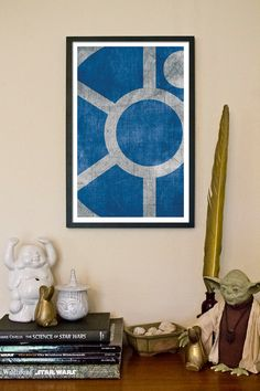 Fine art print inspired by the final Star Wars droid hero, R2D2.