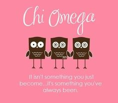 76 Best Chi Omega images | Chi omega, Omega, Sorority