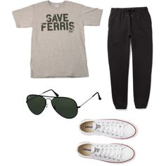 Road trip outfit (switch out for jeans though), I would love the shirt ha ha!
