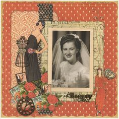 Layout: Beauty A Tribute to Betty with Couture by Chez49 on scrapbook.com #graphic45