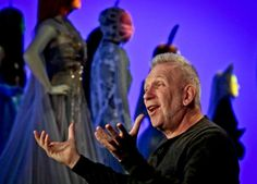 Jean Paul Gaultier speaks during an interview