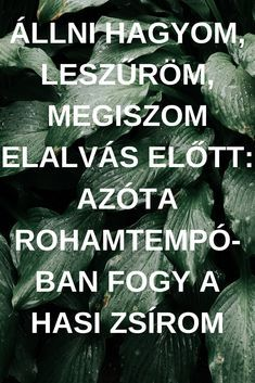 Állni hagyom, leszűröm, megiszom elalvás előtt: azóta rohamtempóban fogy a hasi zsírom Wellness Tips, Health And Wellness, Health Fitness, Healthy Nutrition, Healthy Tips, Weight Watchers Diet, Health Trends, Health Challenge, Health Eating