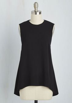 Stay Classic, San Diego Top in Black, @ModCloth
