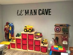 If When We Re Blessed Again Someday It S A Boy I Want To Put This Lil Man Cave Vinyl In Their Bedroom Three Boys One Room Will Be Pretty Dang Fun
