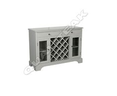Please contacts us for asking detail about ANTIQUE FRENCH GREY PAINTED WINE RACK CABINET