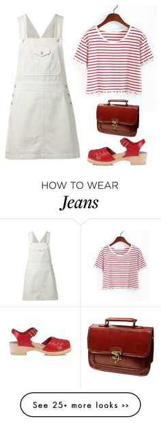 """""""☾O☽ is for OVERALLS"""" by beautifulnoice on Polyvore featuring AG Adriano Goldschmied and FUNKIS"""