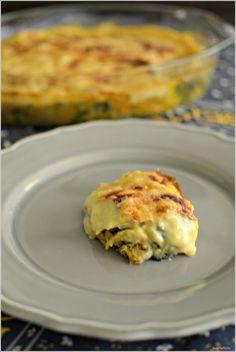Sweet my Kitchen: Bacalhau gratinado com espinafres
