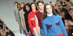 Everything You Need to Know About Raf Simons' First Calvin Klein Show  http://www.elle.com/fashion/news/a42944/raf-simons-first-calvin-klein-collection/