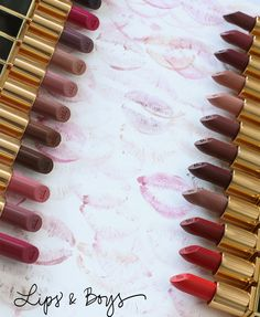 Tom Ford Lips and Boys, 25 New Fall 2016 Shades: The Creams Lipstick Swatches, Makeup Swatches, Bradley Cooper, Tom Ford Beauty, Makeup And Beauty Blog, Kissable Lips, All Things Beauty, Fall 2016, Eyeshadow Palette