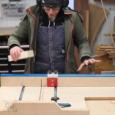 Guys want to learn how to make this type of awesome wood works? Then, get instant access to over woodworking plans with STEP-BY- STEP instructions, photos and diagrams to make every project laughably easy. wood videos Get Access To Woodworking Plans Woodworking Table Plans, Woodworking Software, Woodworking Workshop, Woodworking Techniques, Easy Woodworking Projects, Woodworking Furniture, Diy Wood Projects, Woodworking Tools, Lumber Storage