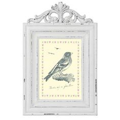 Shabby Chic Wooden Photo Frame - Large : £7.00