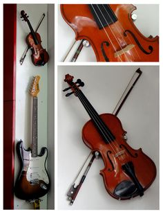 clever ways of displaying instruments