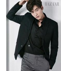 Lee Min Ho - Harper's Bazaar December '16