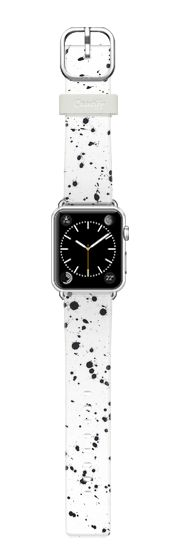 Casetify Apple Watch Band (38mm) Bracelet Casetify - Dazed Confused [White] by Galaxy Eyes #Casetify