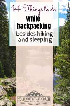 Kayak Camping Trips Backpackers can go a little crazy hiking alone all day with no one to talk to, or get very anxious and scared lying awake, alone at night. Try these instead next time you're camping or backpacking alone. Ultralight Backpacking, Backpacking Tips, Hiking Tips, Hiking Gear, Hiking Shoes, Backpacking Checklist, Hiking Training, Kayak Camping, Camping And Hiking