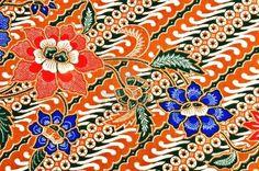 Javanese batik pattern