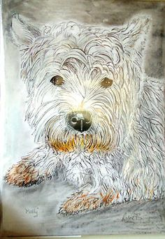 Pet Portraits Make Wonderful Presents or treat yourself, immortalise your pet! | eBay