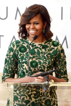 Michelle Obama Opens the Met's New Costume Center