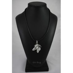 Necklace covered thin layer of silver