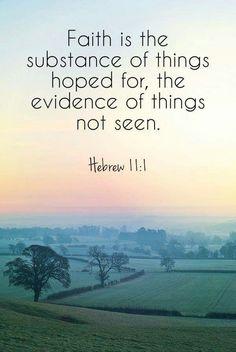 Gotta have faith! :)