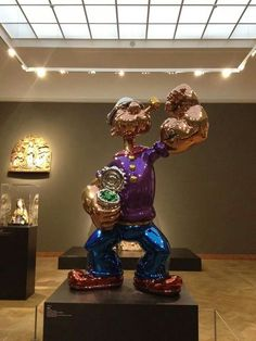Popeye by Jeff Koons