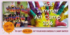 Dip 'n Dab - BYOB Painting Summer Art, Summer Kids, Dip And Dab, Byob Painting, Camping Signs, Team Building Activities, Studio, Logos, Logo