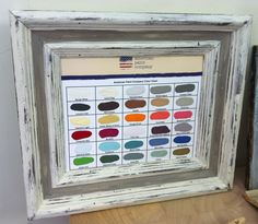 American Paint Company Color Chart