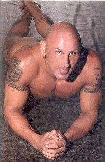 Former WWE wrestler Vito in Playgirl